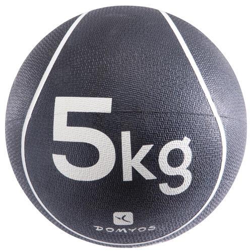 Medecine ball 5kg lestée pilates toning