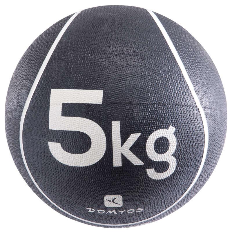 ALAKFORMÁLÁS FELSZERELÉS Alakformálás - Medicinlabda, 5 kg DOMYOS - Alakformálás