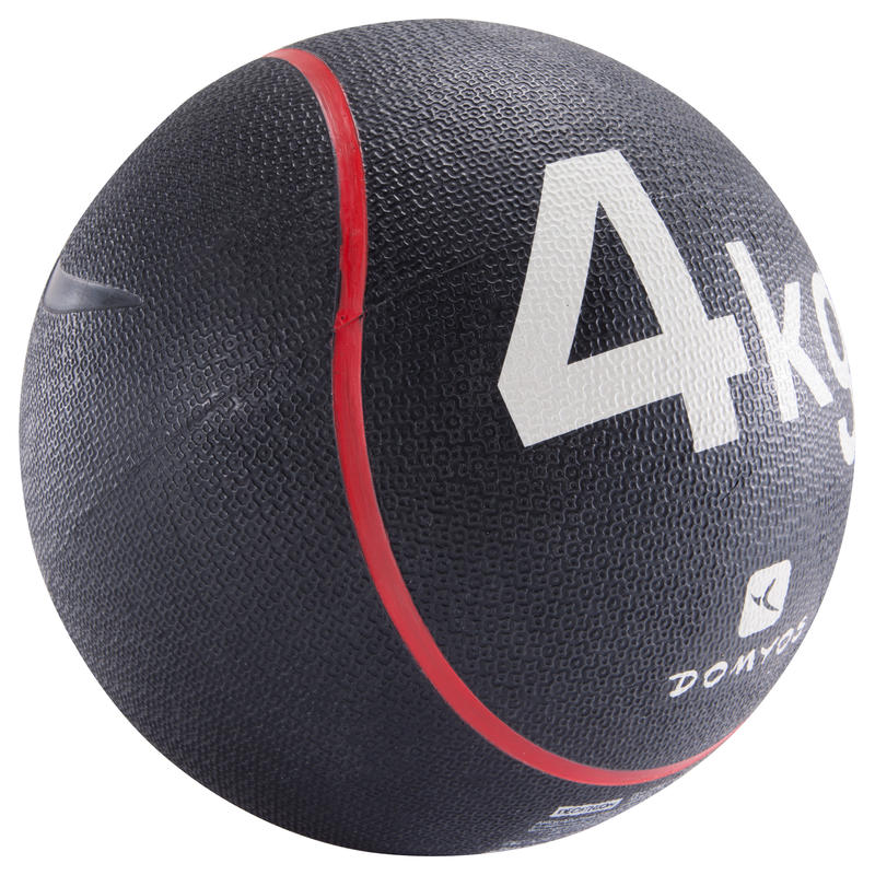 Pilates Toning Weighted Medicine Ball 4 kg