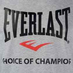 Mouwloos boksshirt voor heren, voor training, grijs