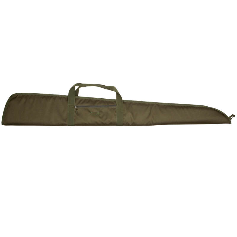 SMALL GAME SHOTGUN/AMMO TRANSPORT Shooting and Hunting - Gun Slip 125 cm green  SOLOGNAC - Hunting and Shooting Accessories