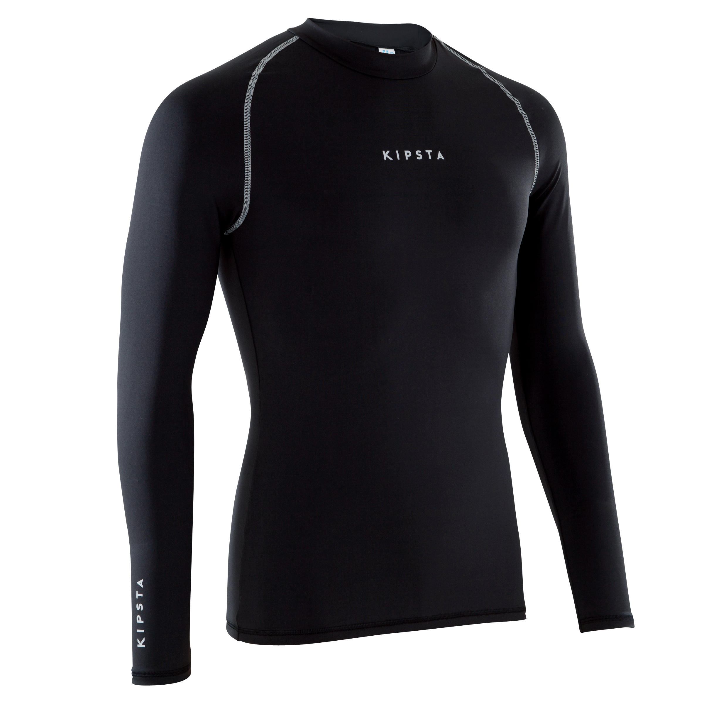 Keepdry 100 Adult Breathable Long-Sleeved Base Layer - Black