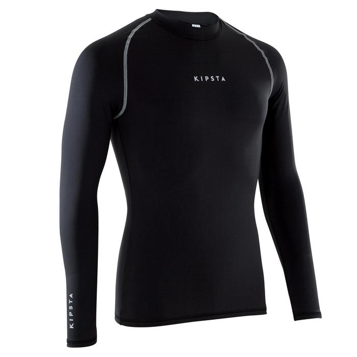 Keepdry 100 Adult Breathable Long Sleeve Base Layer - Black - 1175912