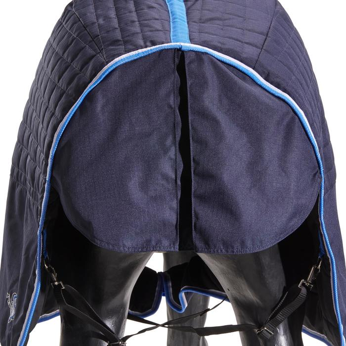 Staldeken ST400 ruitersport pony paard marineblauw