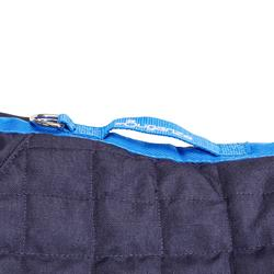Couverture d'écurie équitation cheval et poney STABLE 400 bleu