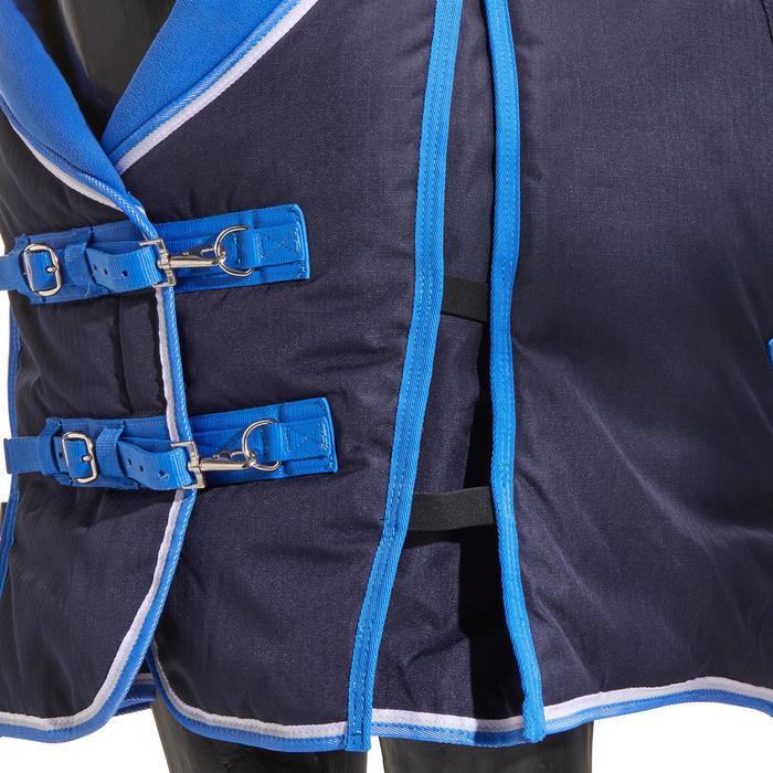 Couverture écurie équitation cheval et poney ST400 bleu marine