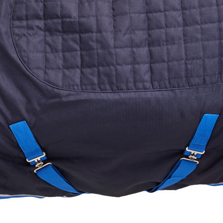 Horse Riding Stable Rug 400 For Horse And Pony - Blue