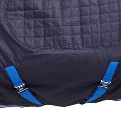 COUVERTURE EQUITATION ECURIE CHEVAL ET PONEY STABLE 400 bleu