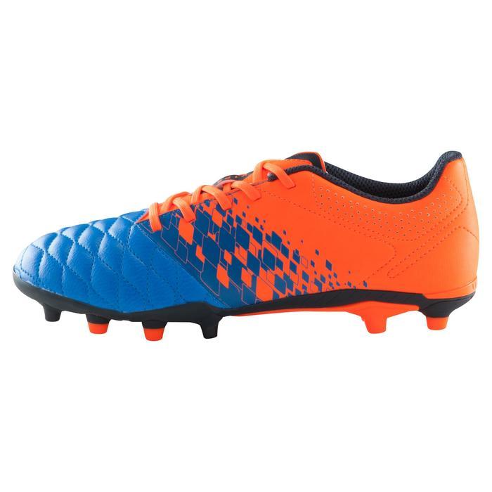 Chaussure de football enfant terrains secs Agility 500 FG bleu orange - 1176110