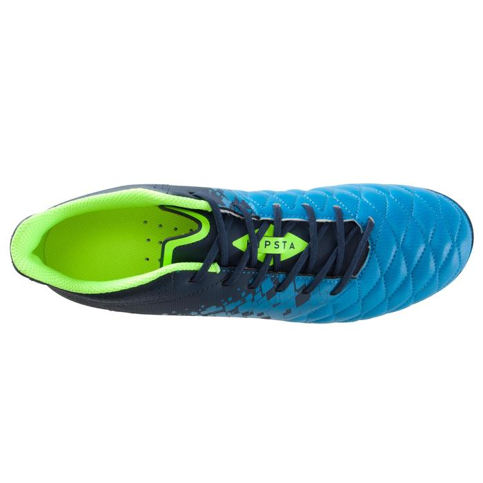 Chaussure de football adulte terrains secs Agility 500 FG bleue - 1176125