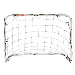 Mini voetbaldoeltje Basic Goal maat S wit - 1176131