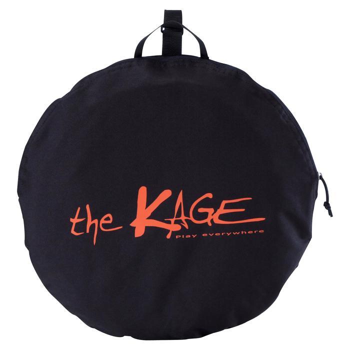 Portería de Fútbol Kipsta autodesplegable The Kage Light negro