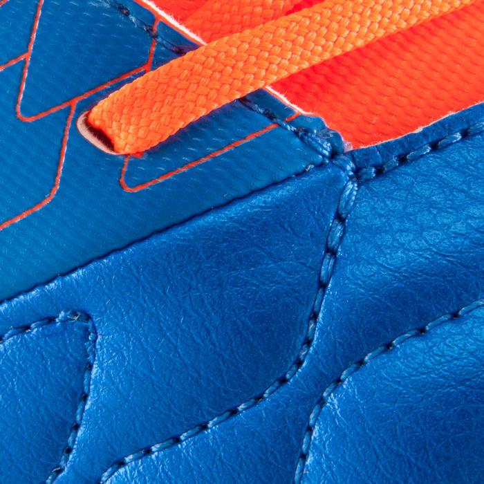 Chaussure de football enfant terrains secs Agility 500 FG bleu orange - 1176142