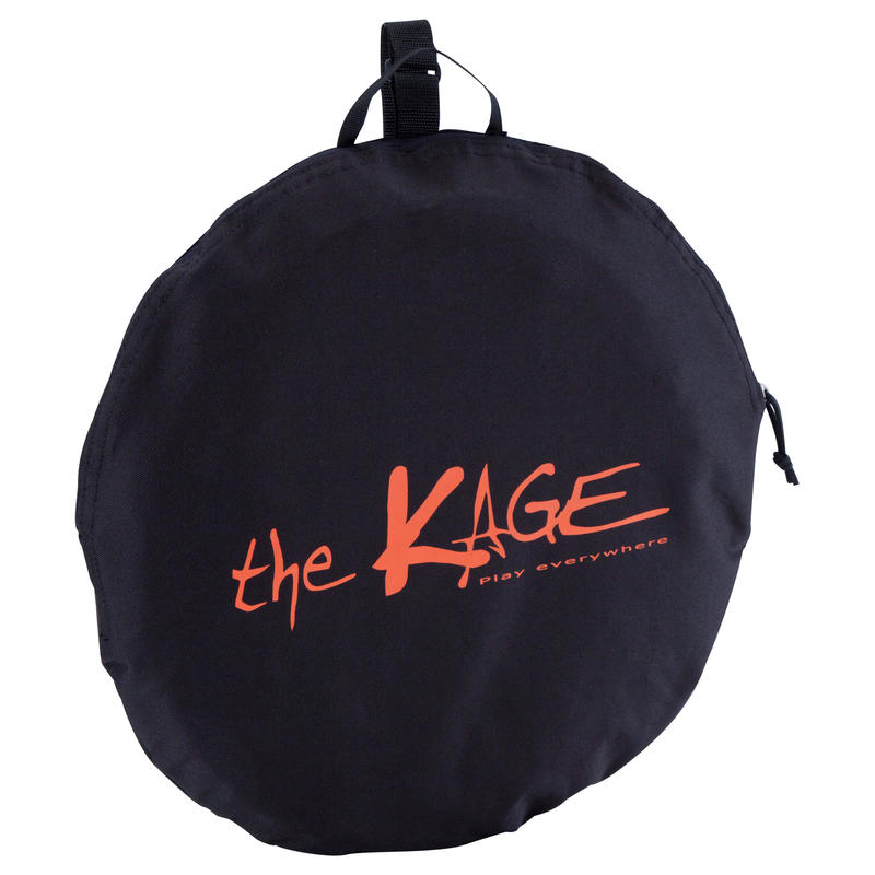 The Kage Light Football Pop-up Goal - Black