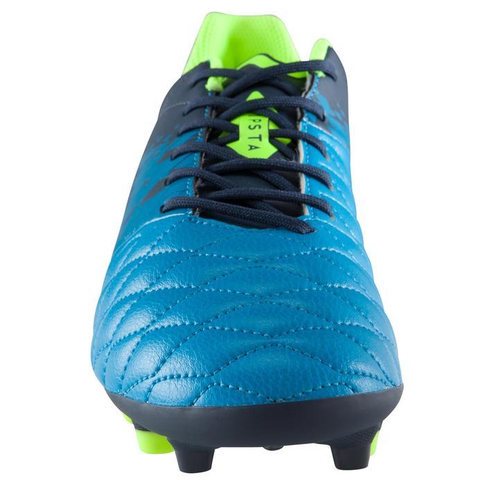 Chaussure de football adulte terrains secs Agility 500 FG bleue - 1176174