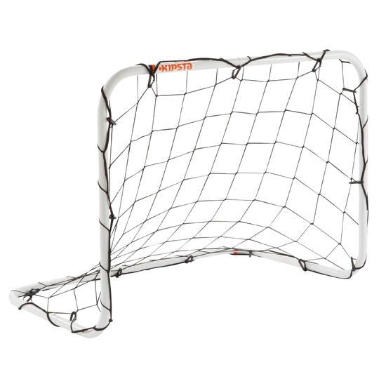 Mini voetbaldoeltje Basic Goal maat S wit - 1176181
