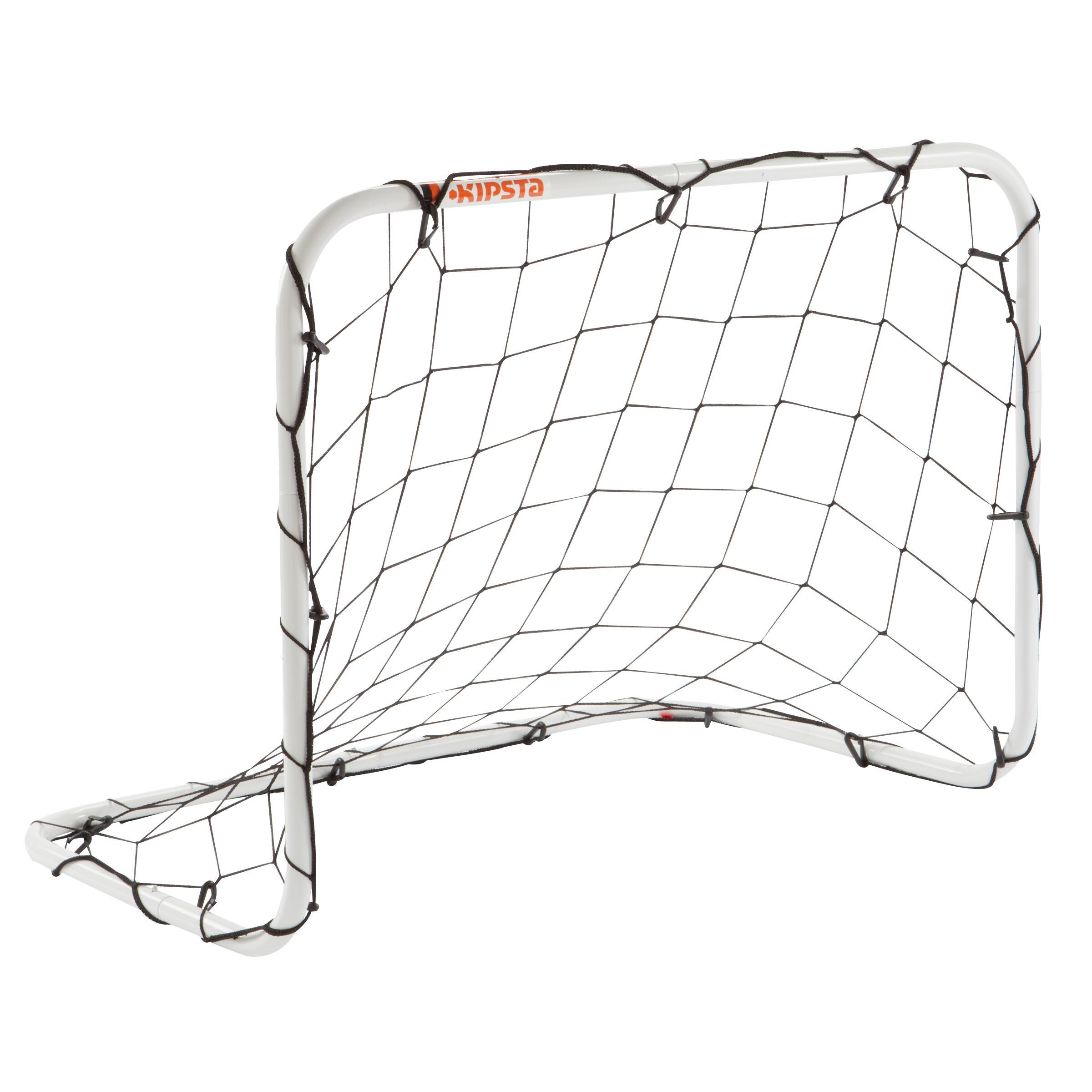 Basic Soccer Mini Goal Size S - White