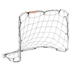 Mini-Fußballtor Basic Goal Größe S 90x70 cm weiß