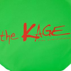 Portería de fútbol autodesplegable The Kage Light verde