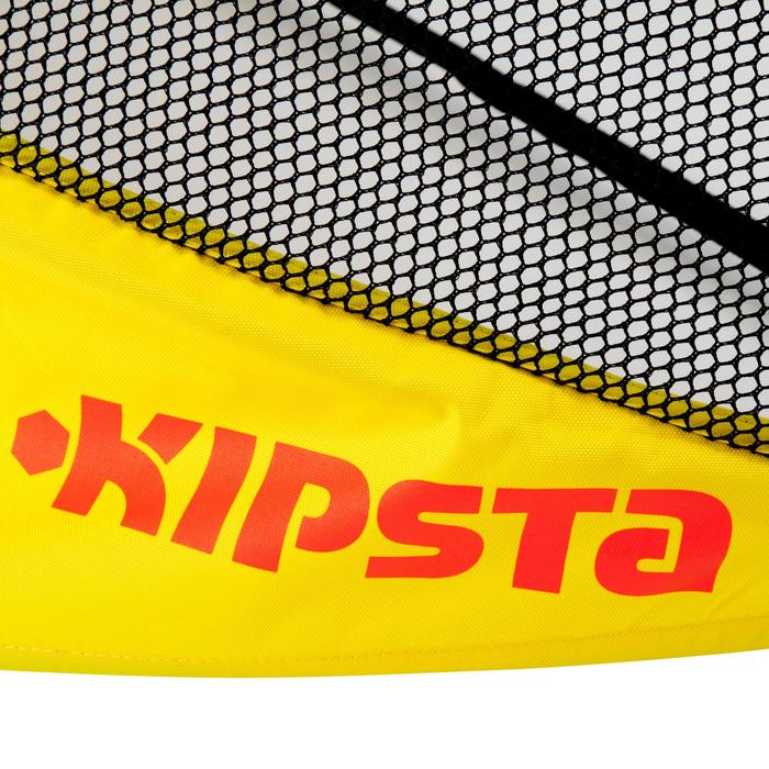 Fußballtor The Kage Light selbstfaltend 120x80 cm gelb