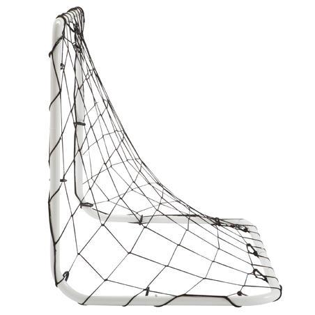 Portería de Fútbol Kipsta Basci Goal talla S blanco