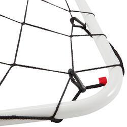 Mini voetbaldoeltje Basic Goal maat S wit - 1176206