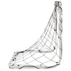 Mini voetbaldoeltje Basic Goal maat S wit - 1176211