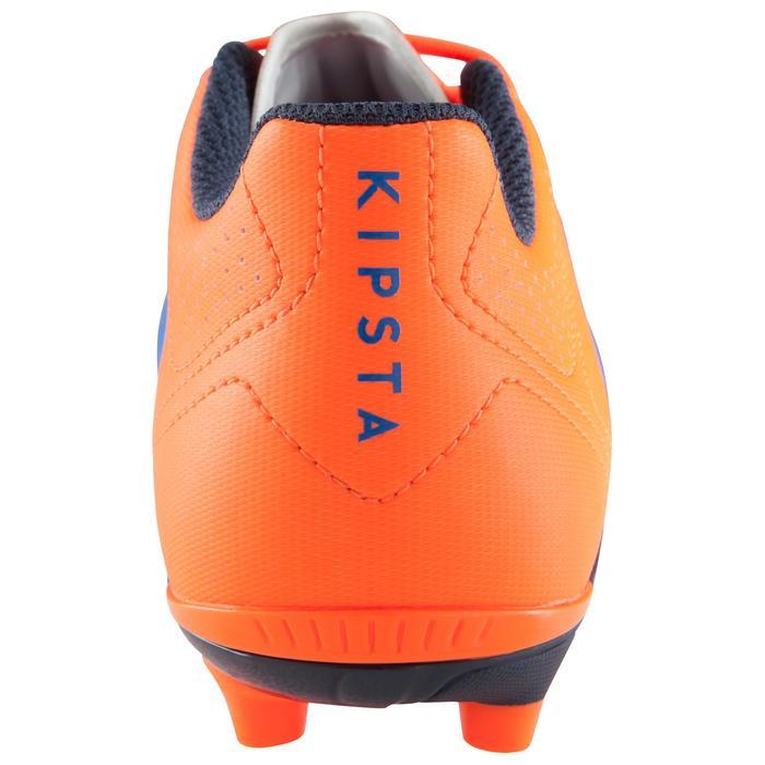 Chaussure de football enfant terrains secs Agility 500 FG bleu orange - 1176225