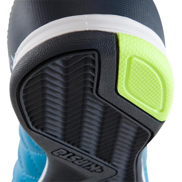 Hallenschuhe Futsal Fußball Agility 500 Erwachsene blau