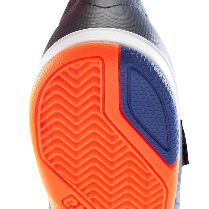 Chaussure de futsal enfant Agility 500 bleue à scratch - 1176260