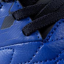 Zaalvoetbalschoenen kind Agility 500 blauw klittenband