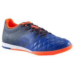 Zaalvoetbalschoenen voor kinderen Agility 500 blauw