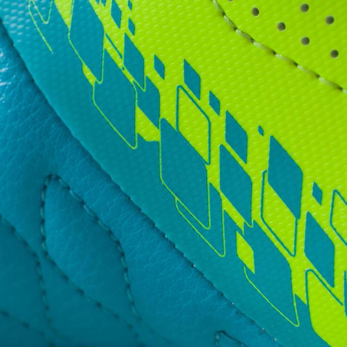 Chaussure de futsal enfant Agility 500 bleue à scratch - 1176279