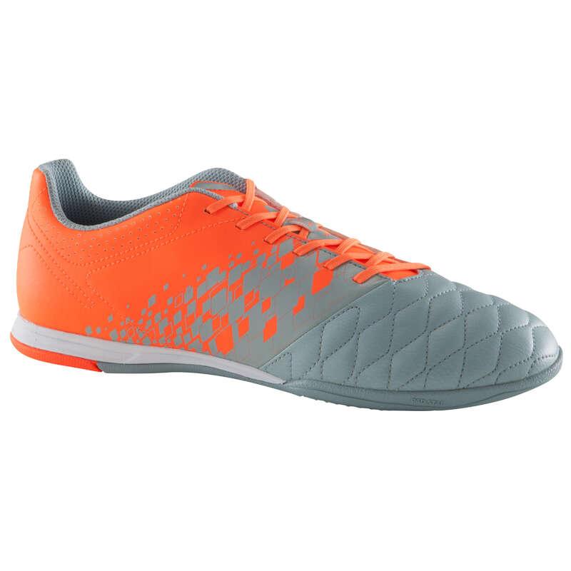 FUTSAL SHOES HOMME Football - Agility 500 Sala Adult Grey IMVISO - Football Boots