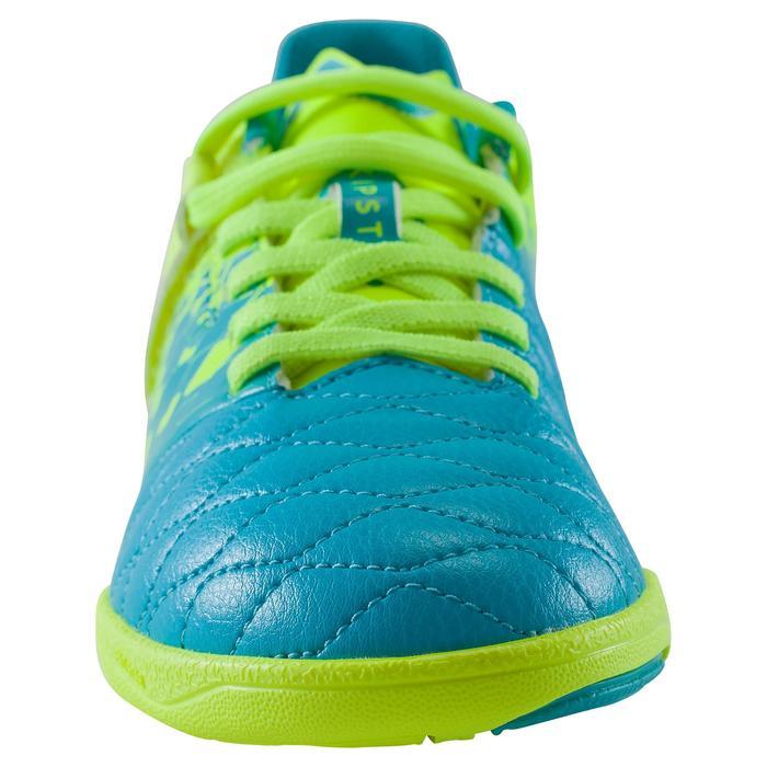 Zaalvoetbalschoenen Agility 500 Sala kinderen geel/blauw