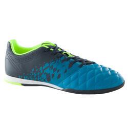Zapatillas de Fútbol Sala Kipsta Agility 500 adulto azul