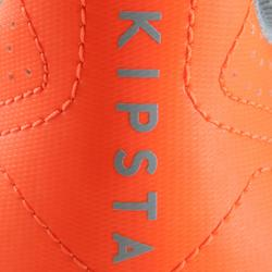 Chaussure de futsal adulte Agility 500 sala grise orange