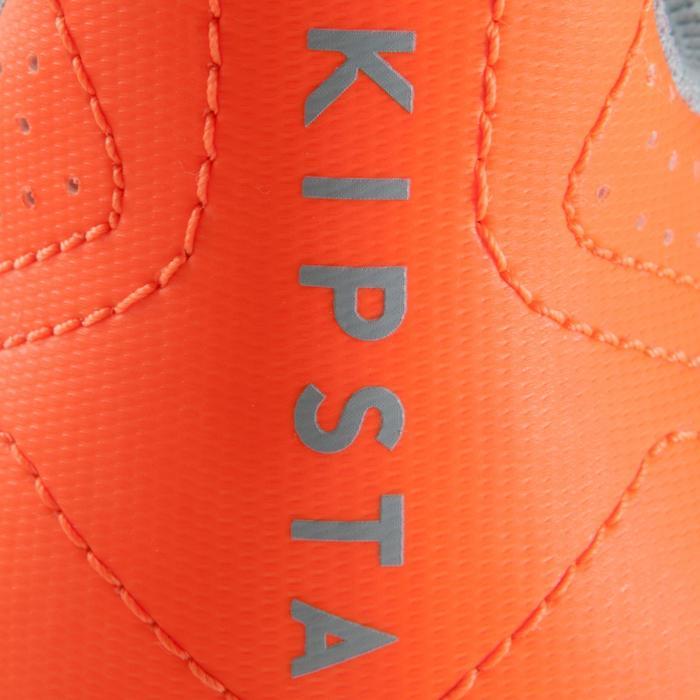 Hallenschuhe Futsal Fußball Agility 500 Erwachsene grau/orange
