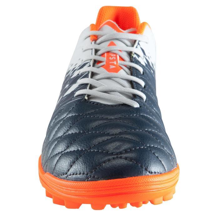 Voetbalschoenen Agility 500 HG volwassenen harde velden grijs/blauw