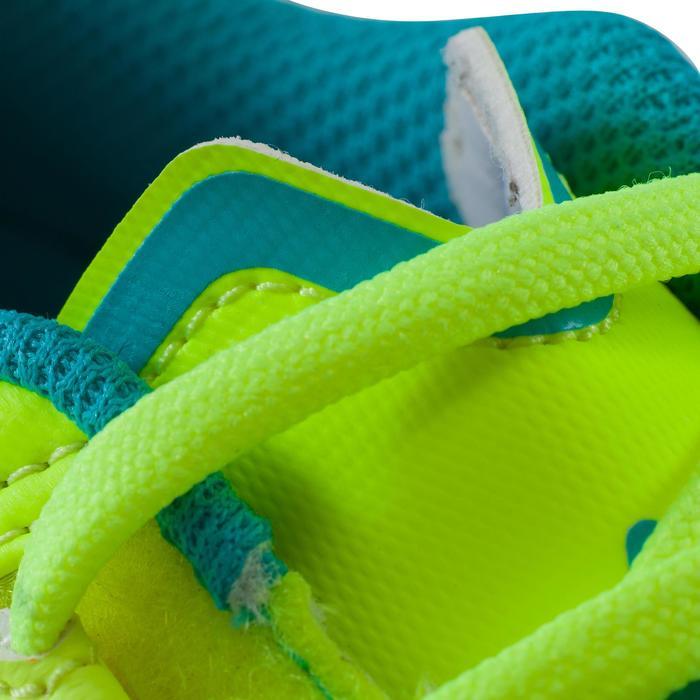 Chaussure de futsal enfant Agility 500 bleue à scratch - 1176343