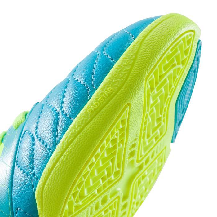 Chaussure de futsal enfant Agility 500 bleue à scratch - 1176359