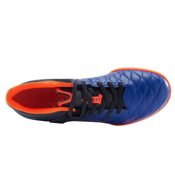 Chaussure de futsal enfant Agility 500 bleue à scratch - 1176364
