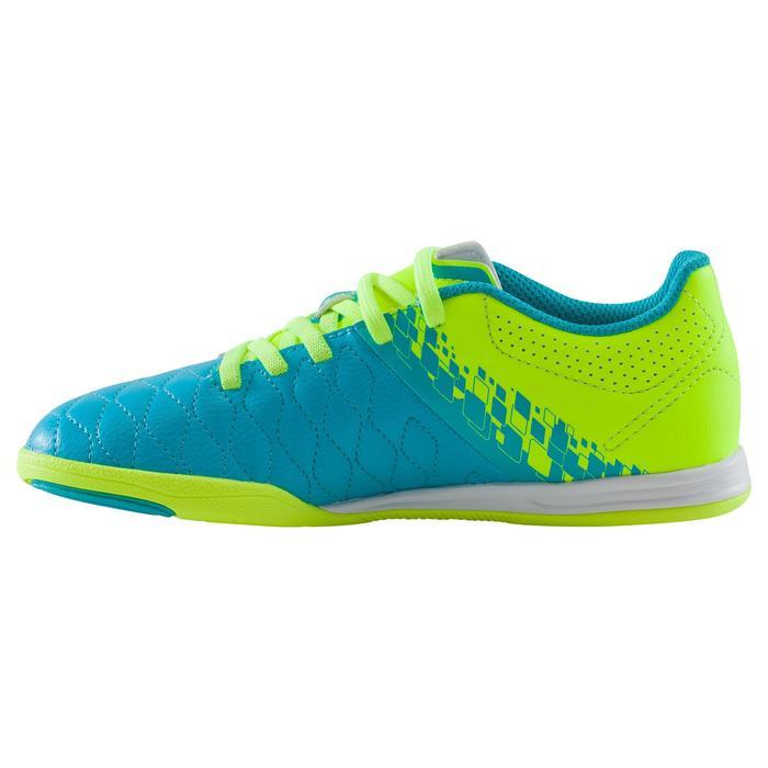 Chaussure de futsal enfant Agility 500 bleue à scratch - 1176372