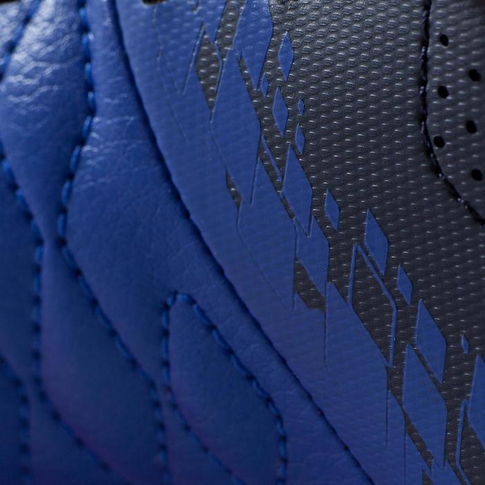 Chaussure de futsal enfant Agility 500 bleue à scratch - 1176384
