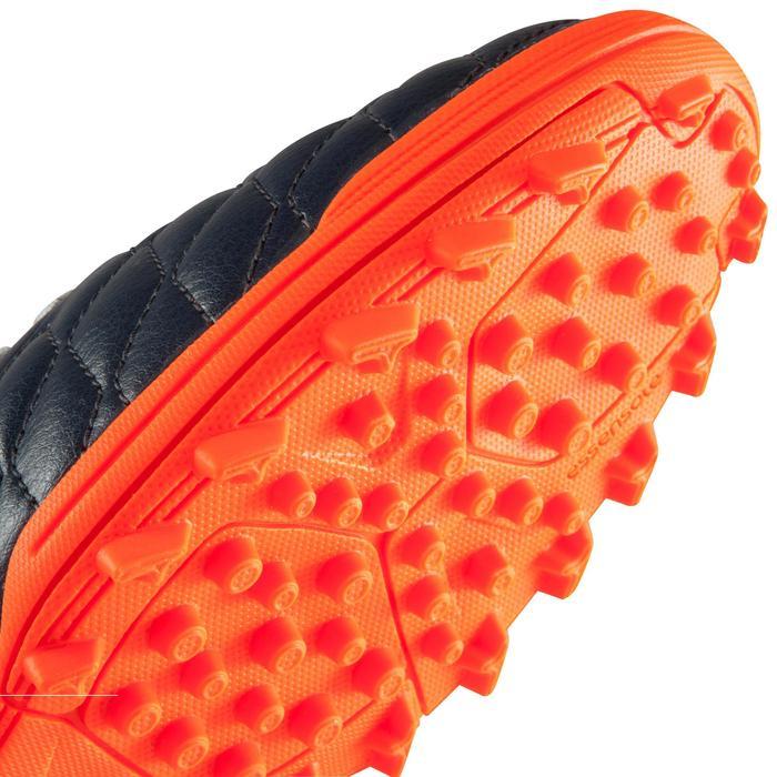 Voetbalschoenen voor volwassenen Agility 500 HG hard terrein grijs blauw