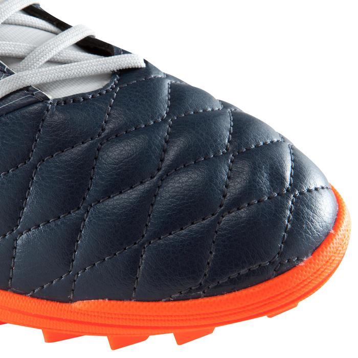 Chaussure de football adulte terrains durs Agility 500 HG grise bleue