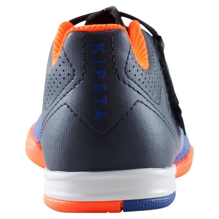 Chaussure de futsal enfant Agility 500 bleue à scratch - 1176407