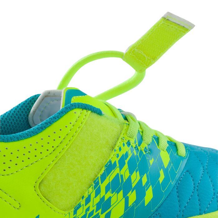 Chaussure de futsal enfant Agility 500 bleue à scratch - 1176420