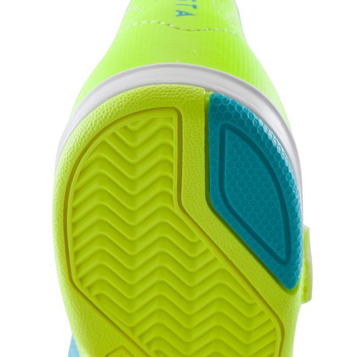 Chaussure de futsal enfant Agility 500 bleue à scratch - 1176421