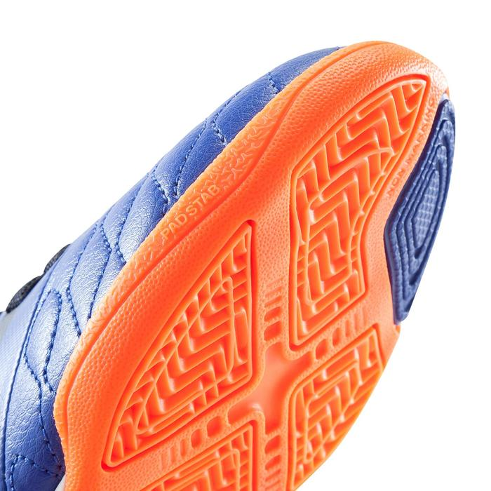 Chaussure de futsal enfant Agility 500 bleue à scratch - 1176460